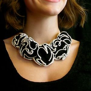 Kate Spade Crochet Blooms Necklace